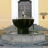 Hot springs fountain