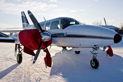 Bettle to Fairbanks-in the air