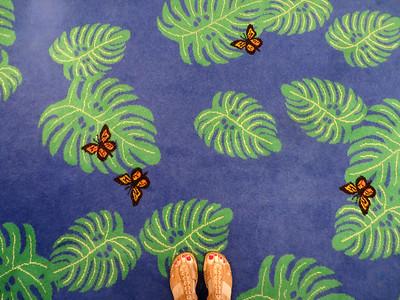 Whimsical carpet