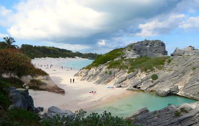 Horseshoe Bay,  south coast, Bermuda