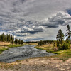 Fairy Creek in the Lower Geyser Basin, HDR