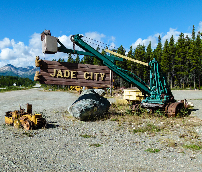 Jade City makes a fun stop on the Cassiar Highway in northern British Columbia.