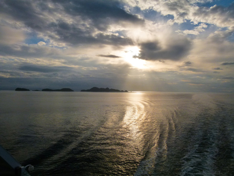 Inside Passage Sunrise