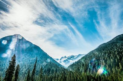 Glacier National Park in British Columbia, Canada