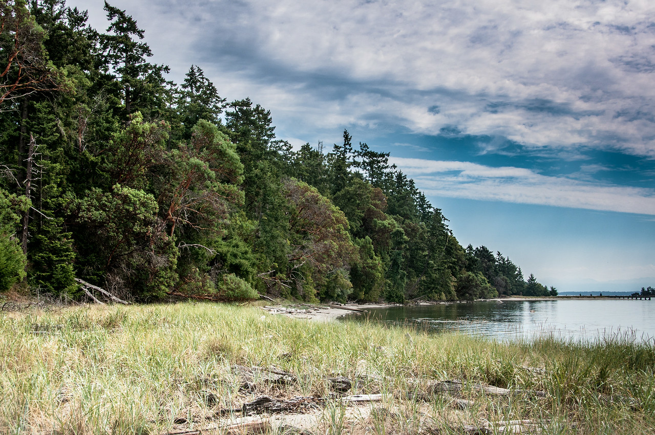 Gulf Islands National Park Reserve in British Columbia, Canada