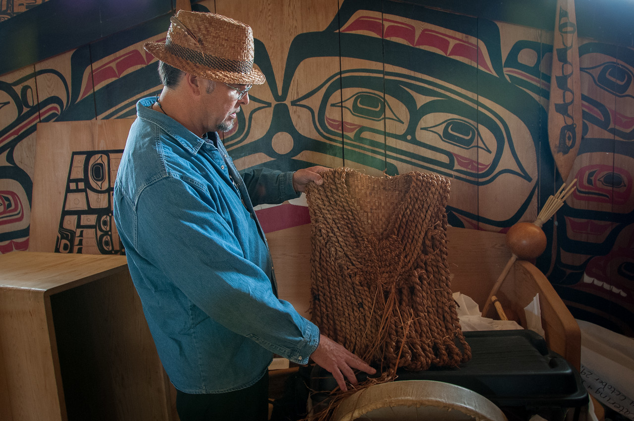Exploring Haida Heritage Center in British Columbia