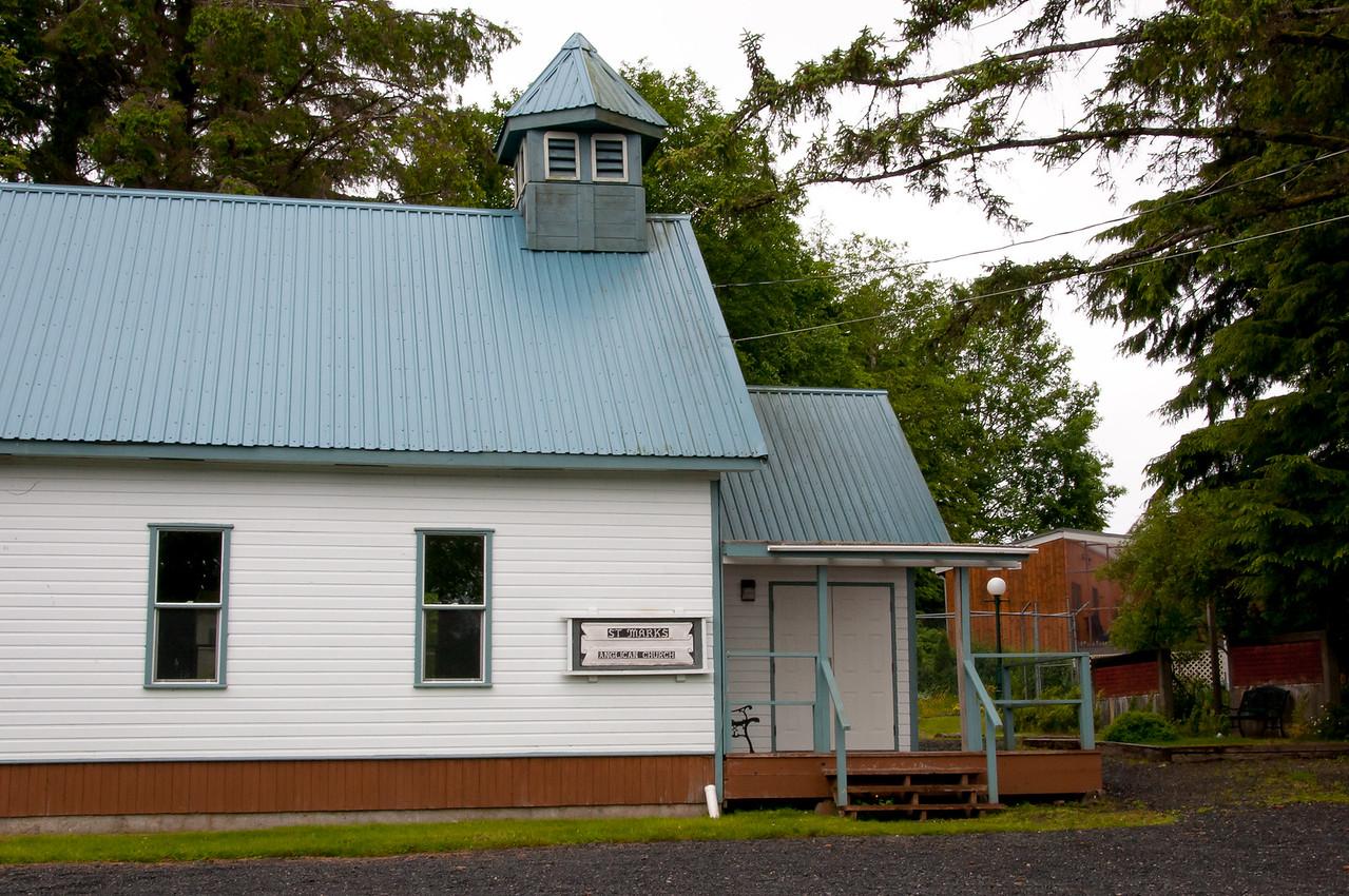 St. Mark's Anglican Church in Haida Gwaii, British Columbia