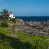 trail view of Amphitrite Lighthouse