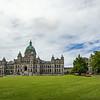 totem pole & BC parliament