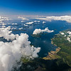 bay on southwest coast of Vancouver Island from the air