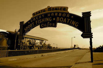 Almost as soon as the Santa Monica Pier was conceived in the early 1900's the notion that a breakwater and yacht harbor would make an ideal companion to the pier circulated regularly. In 1933 this became a reality, and Santa Monica Yacht Harbor was born.