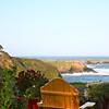 The view from Sea Rock Inn, Mendocino, California