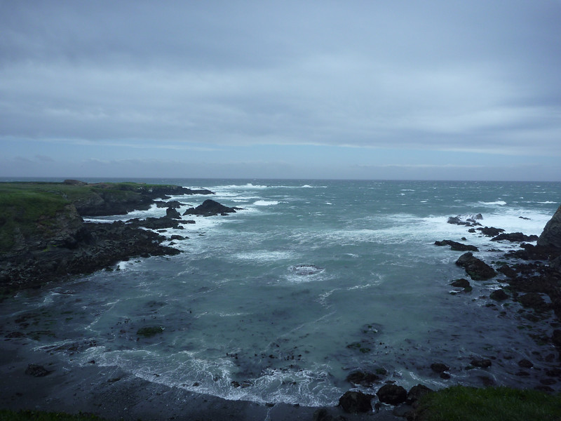 Stormy day in Mendocino