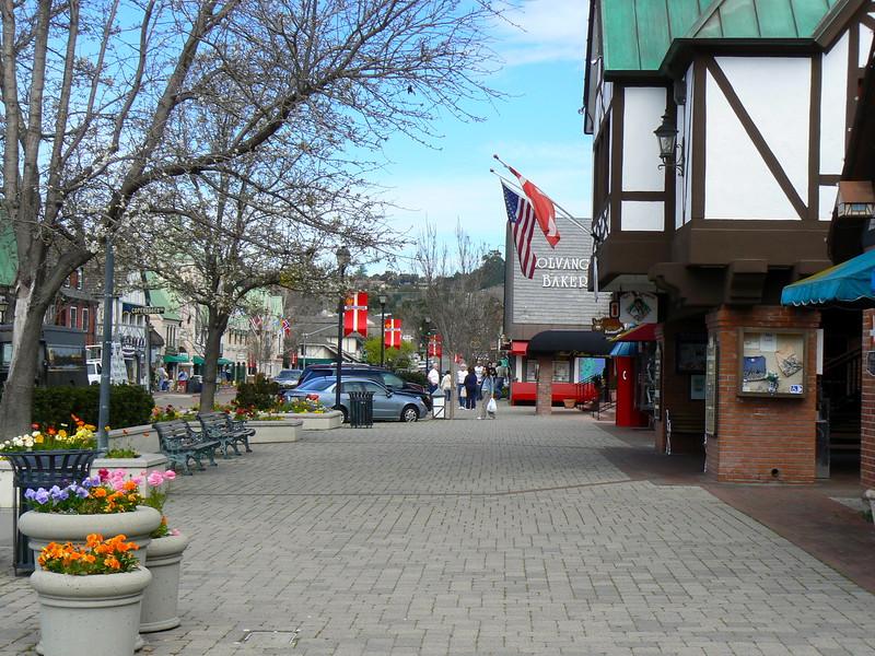 Sidewalks of Solvang, CA
