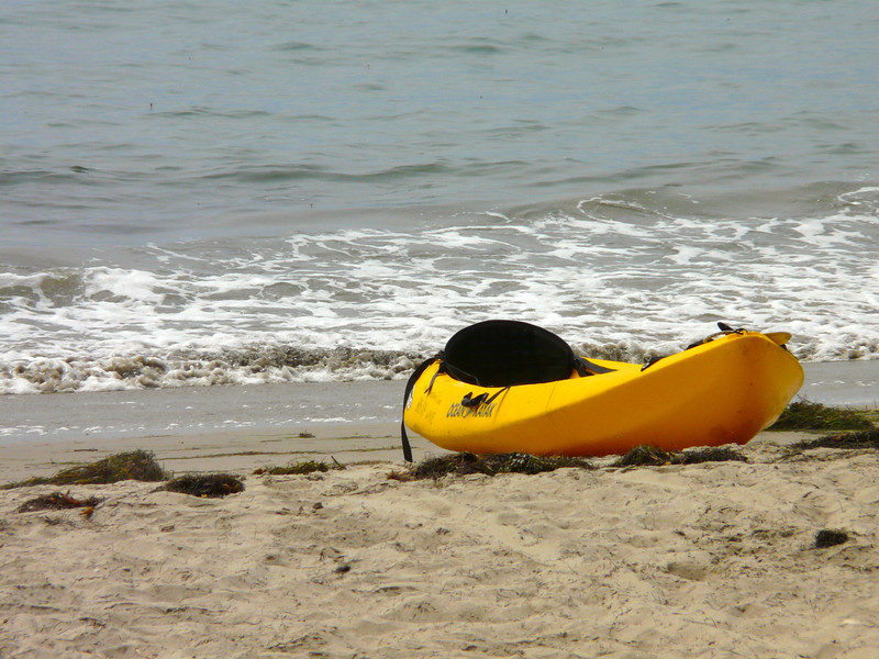 sea kayaking at Refugio State Park