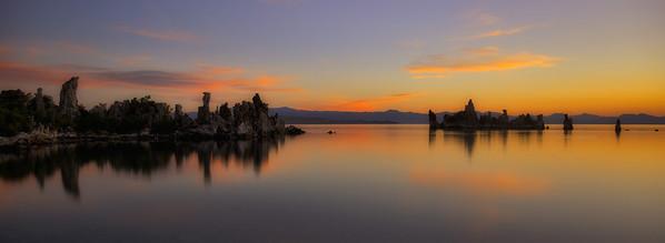 Mono Lake, sunrise