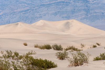 Sand dunes at Death Valley desert in California