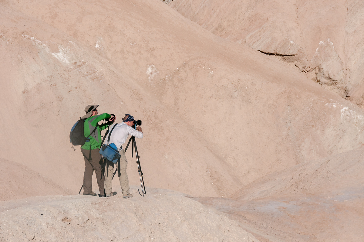 Photographers in Death Valley, California