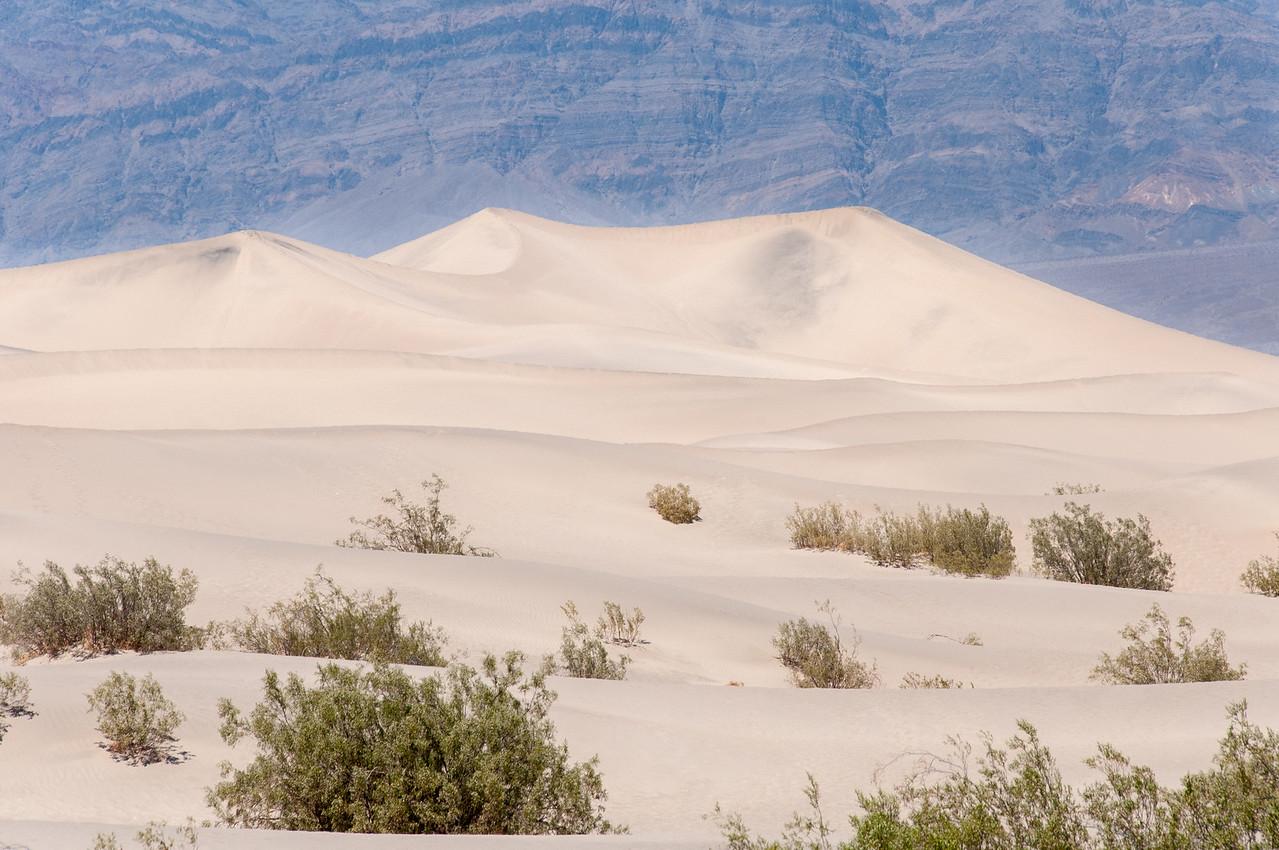Sand dunes in Death Valley desert, California