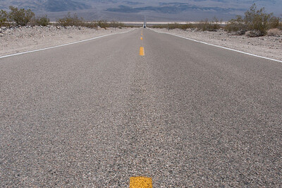 The Road to Death Valley, California