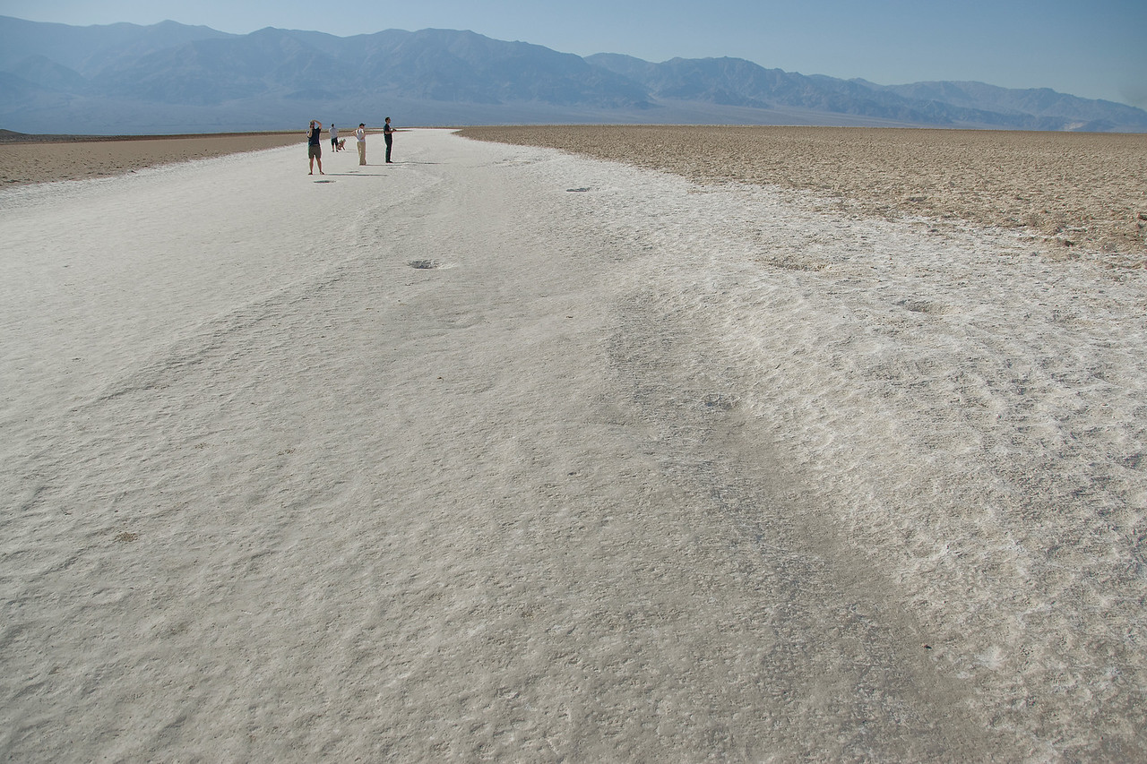 Badwater Basin in Death Valley, California
