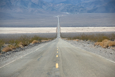 The Road to Death Valley in California