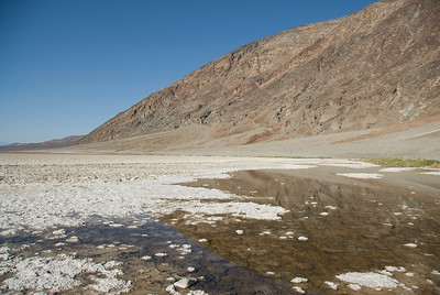 Landscape at Death Valley in California