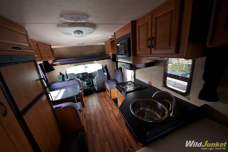 Our motorhome from Cruise America