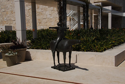Marino Marini's 1948-9 Angel of the Citadel at the Getty Museum in California