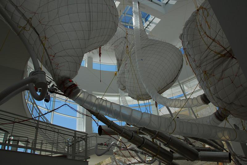 Inside Getty Museum in California