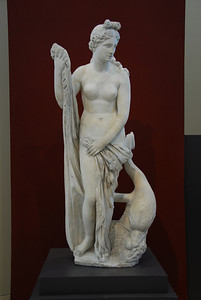 Statue of Mazarin Venus at the Getty Museum in California