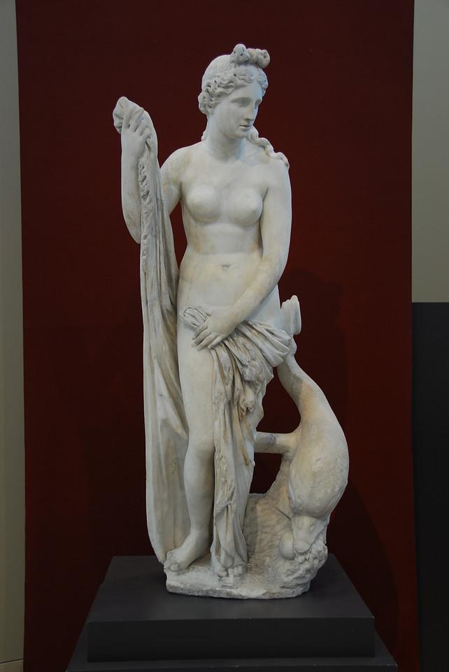 Statue of Mazarin Venus at the Getty Museum in California