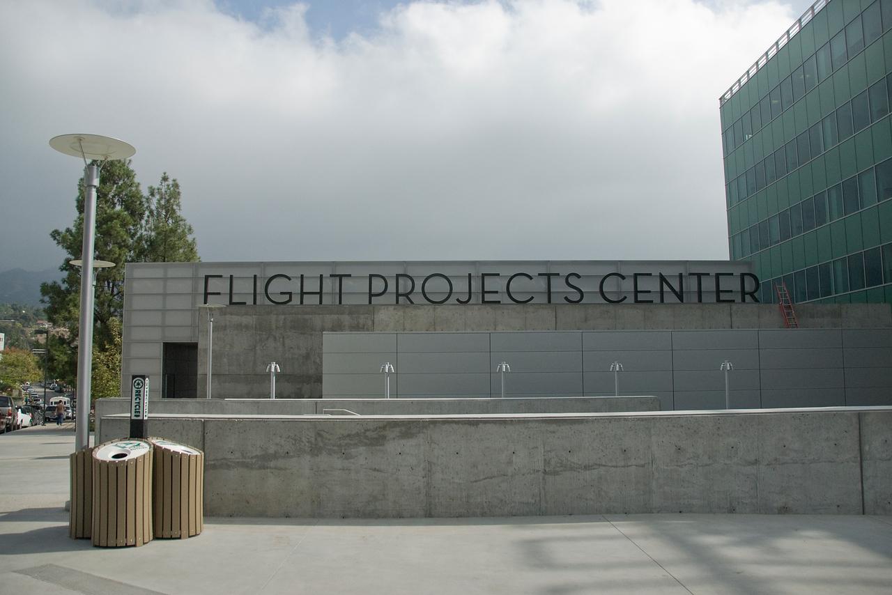 Flight Projects Center in JPL, California