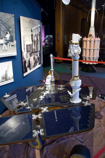 Engineering model at Jet Propulsion Laboratory in California