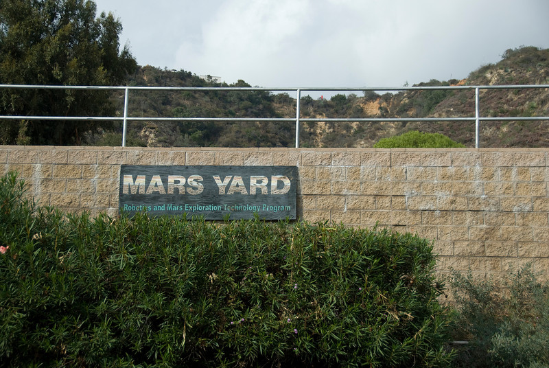 Mars Yard in Jet Propulsion Laboratory in California