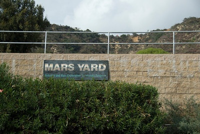 Mars Yard in Jet Propulsion Laboratory in California