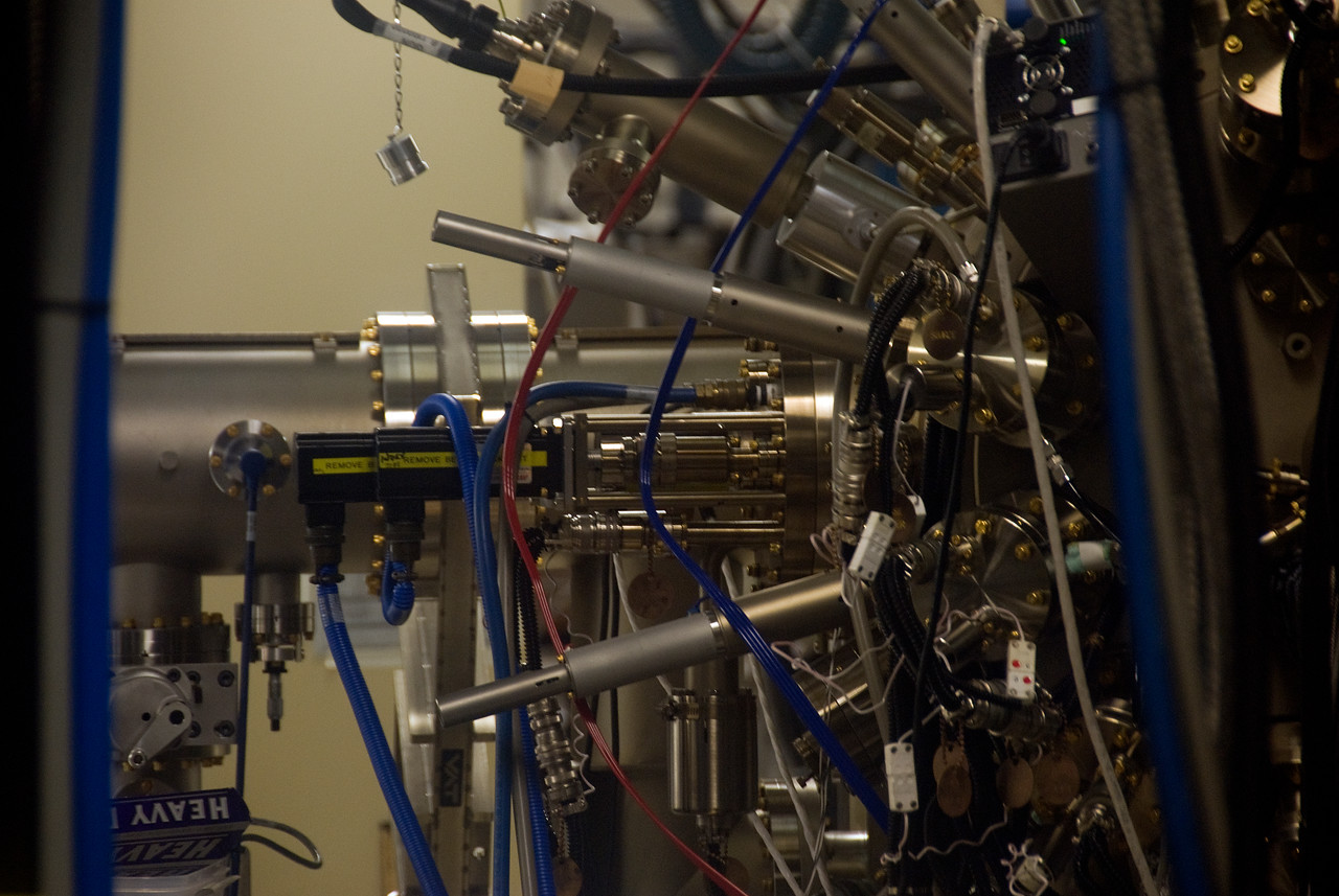 Equipment inside Jet Propulsion Laboratory in California