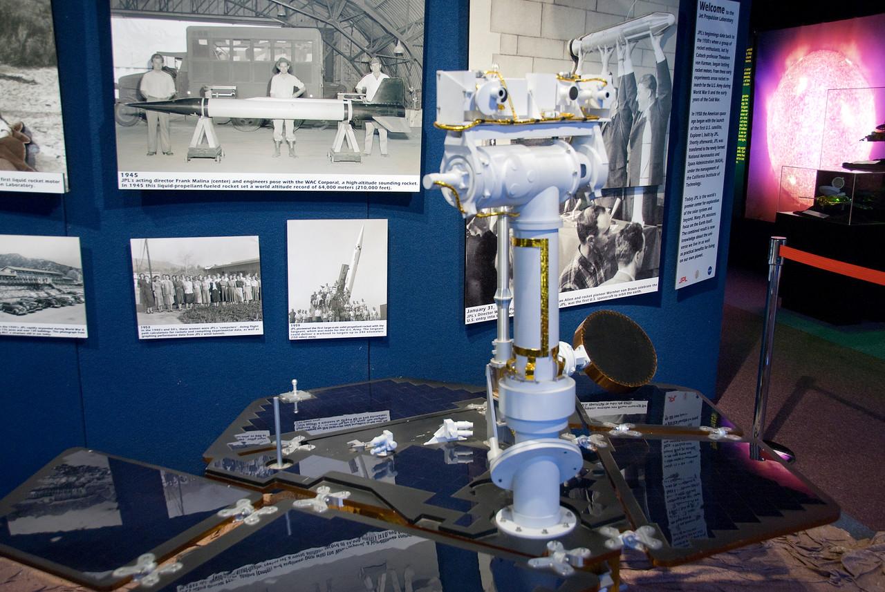 Engineering model at Jet Propulsion Laboratory in California