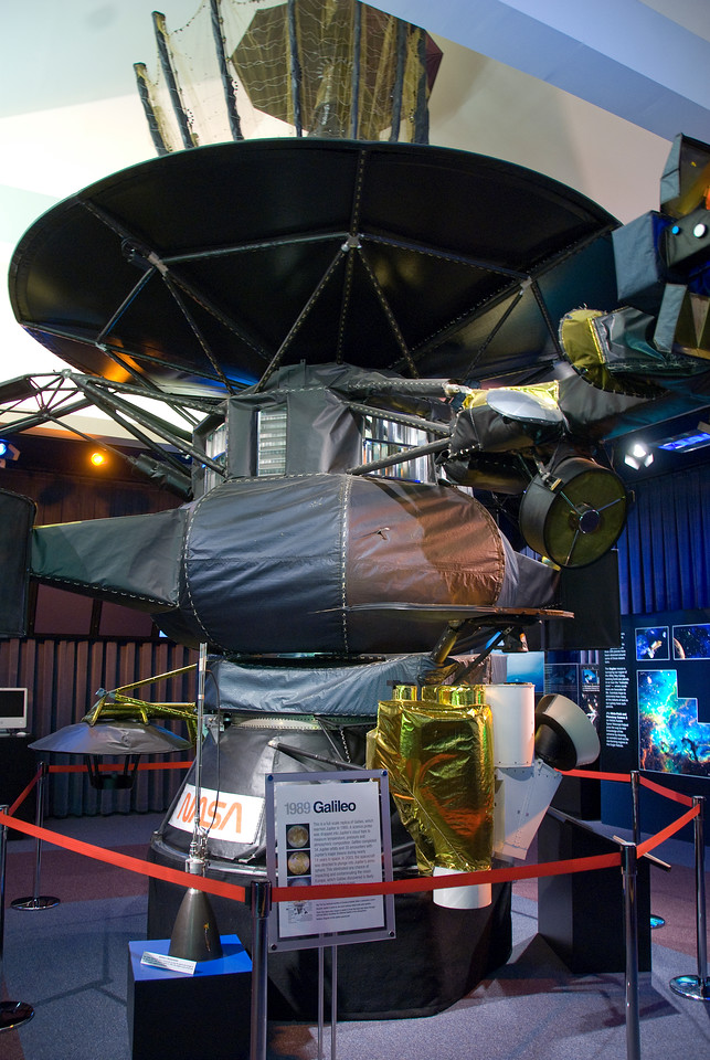 Galileo spacecraft in JPL, California