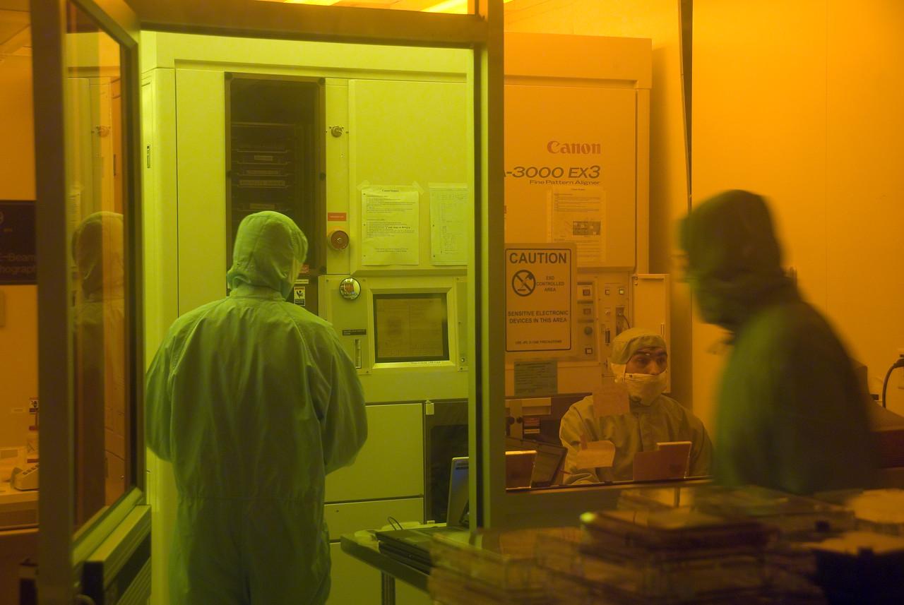 Inside Jet Propulsion Laboratory in California