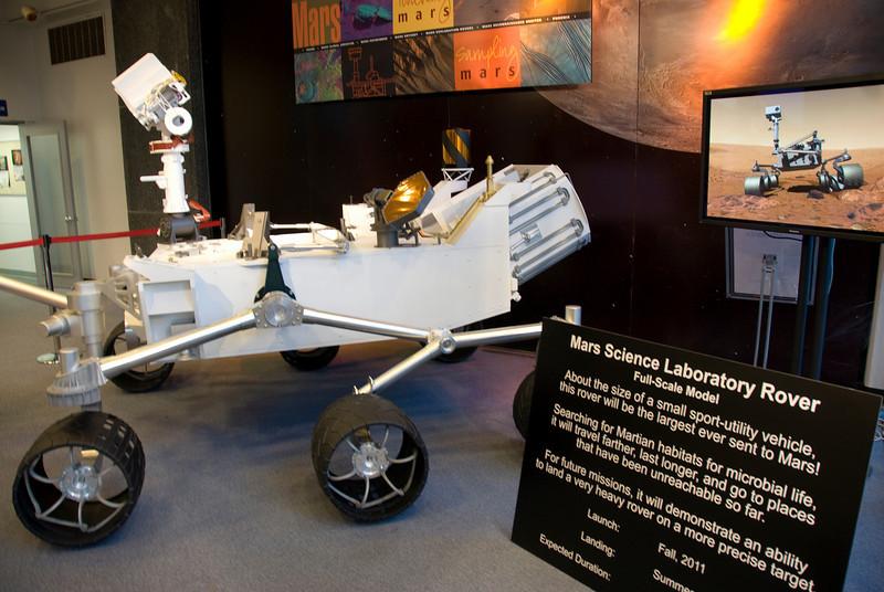 Mars Science Laboratory Rover in JPL, California