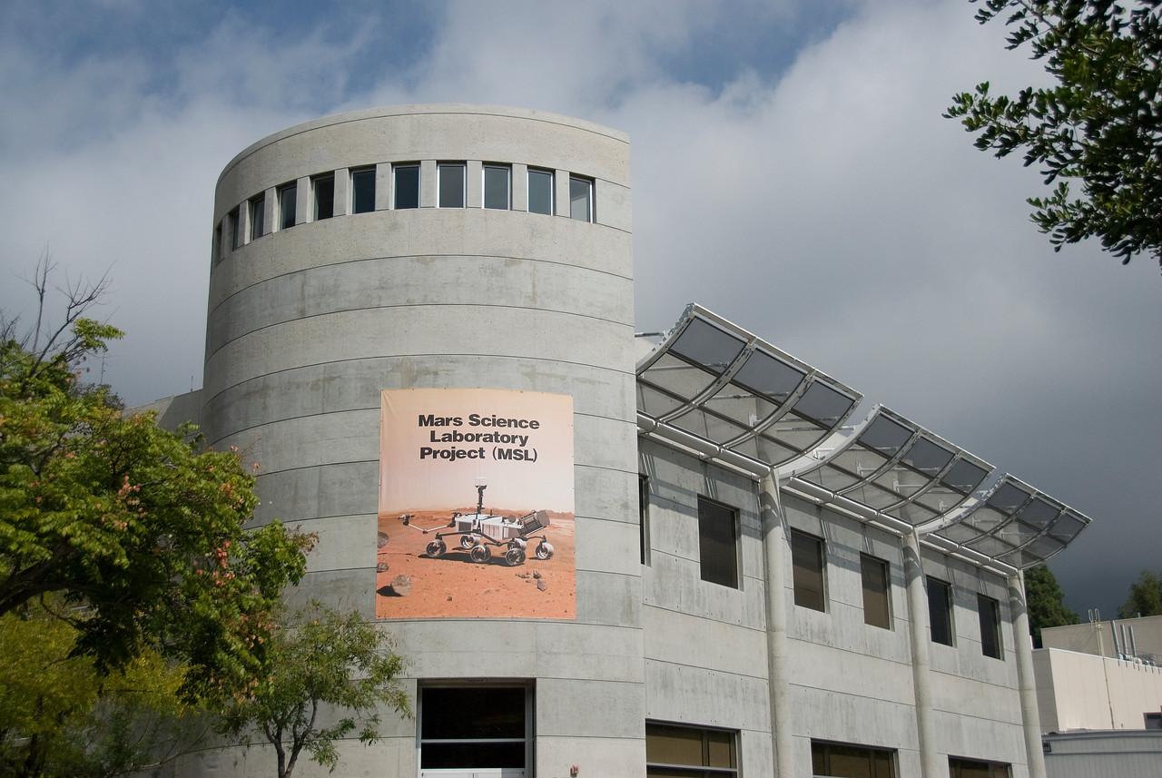 Mars Science Laboratory Project building in JPL, California