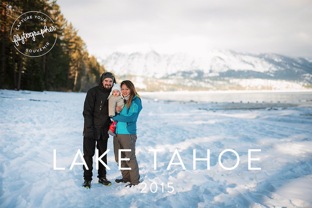 Lake Tahoe with Flytographer