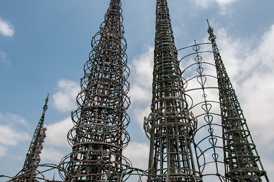Watts Towers of Simon Rodia in Los Angeles, California