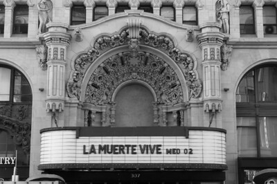 The Million Dollar Theater in Los Angeles, California