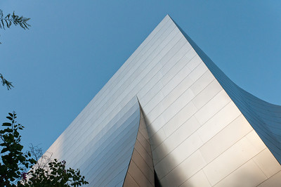 Walt Disney Concert Hall in Los Angeles, California