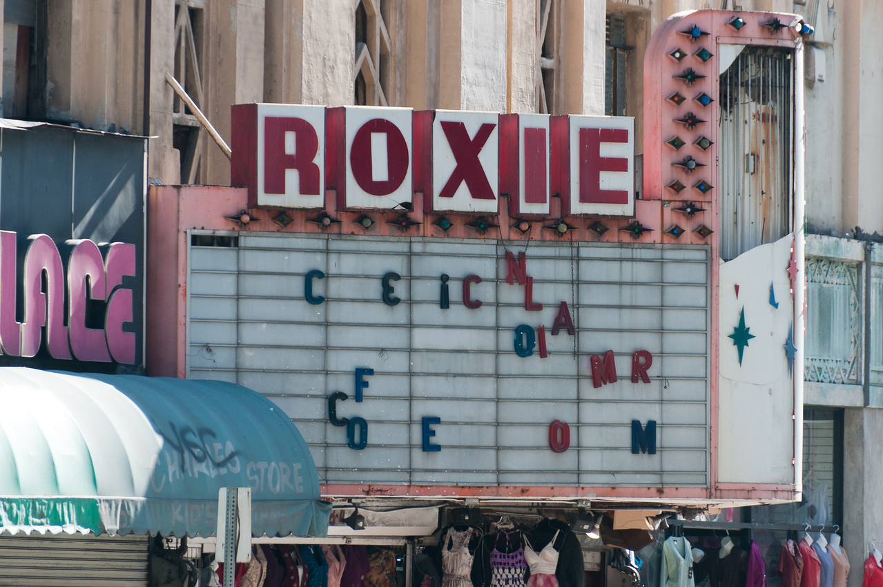 Roxie Theater in Los Angeles, California