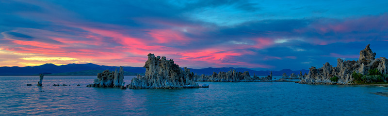 Mono Lake, Sunset