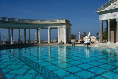 The Hearst Castle in California, USA
