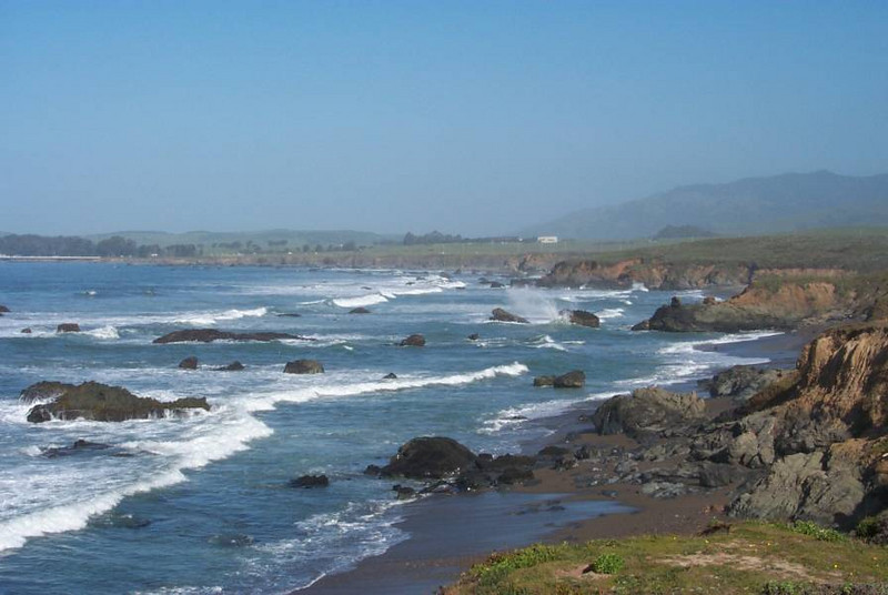 California Coast along the Pacific Coast Highway